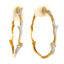 Серьги "Конго" с бриллиантами