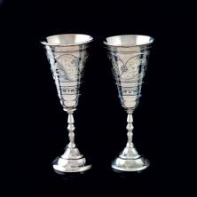 Серебряные фужеры