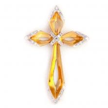 Крест с бриллиантами